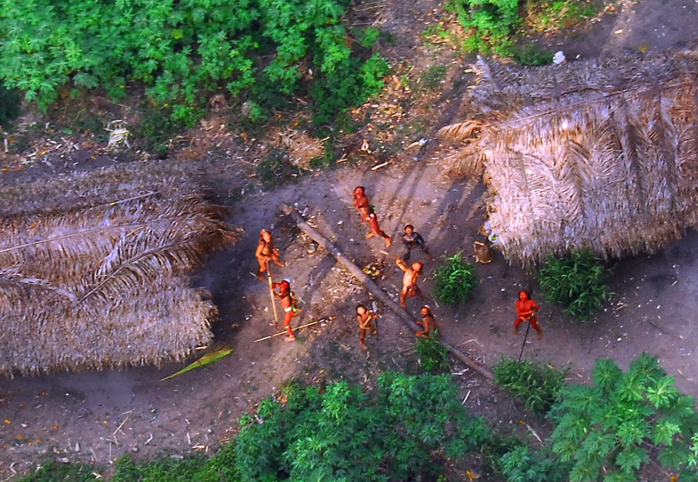 This Amazon Tribe Lived Without The Outside World Until I Drunkenly Made First Contact