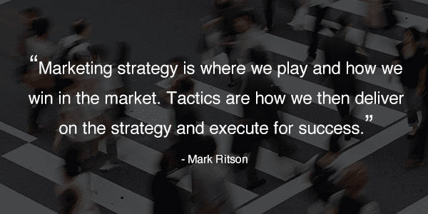 Mark Ritson Marketing Strategy Quote