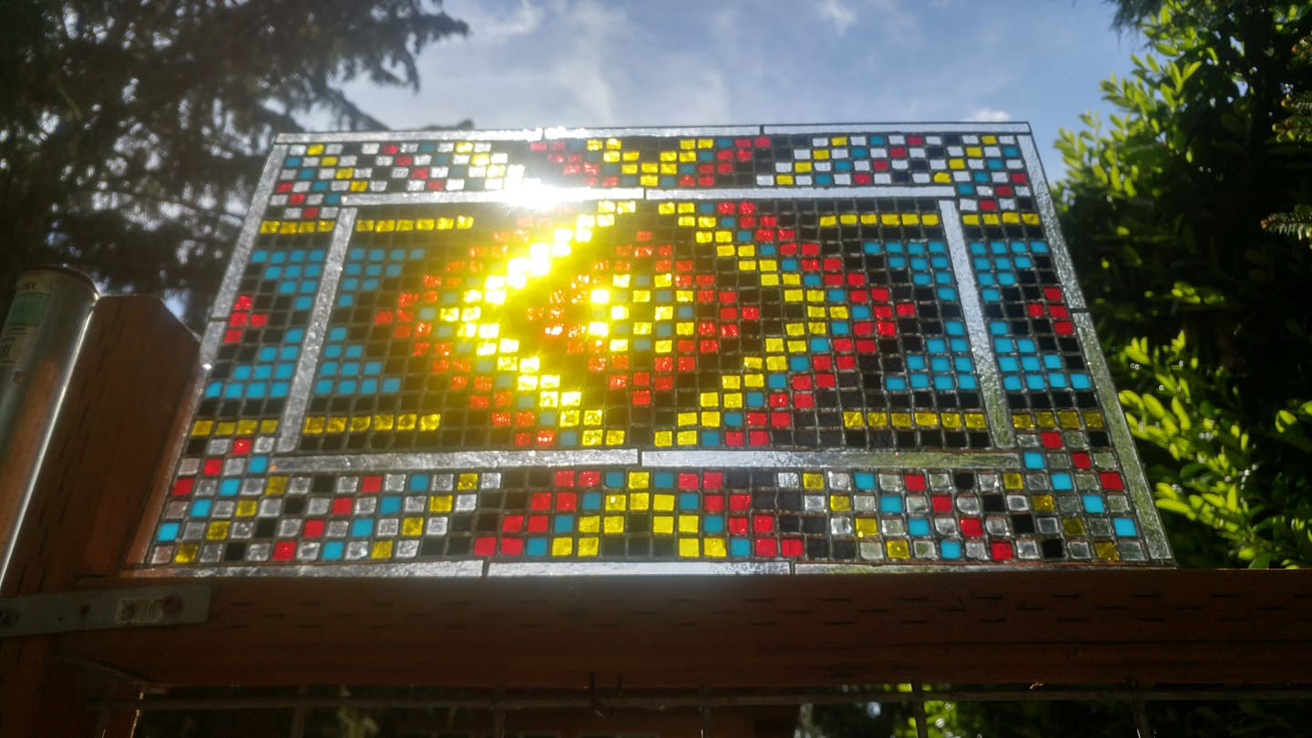 Making an 889-Piece Stained Glass Window / Sun-Catcher
