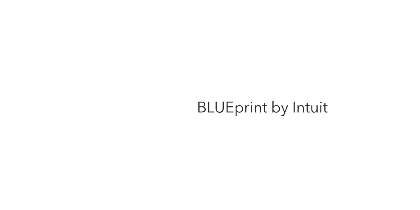 BLUEprint by Intuit