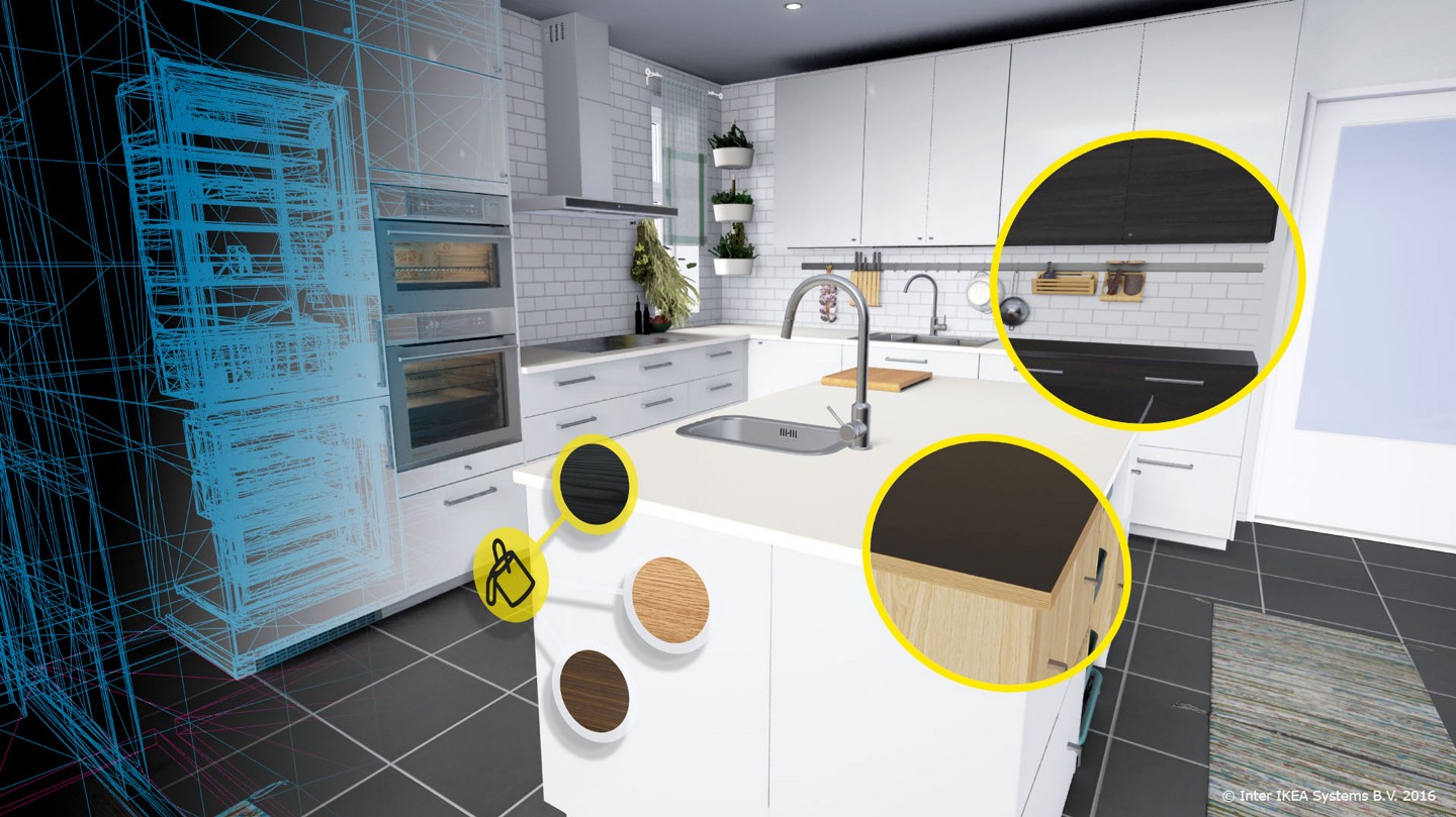VR and AR in the home for contracting