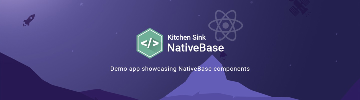 Announcing NativeBase Kitchen Sink App: All components in one place!