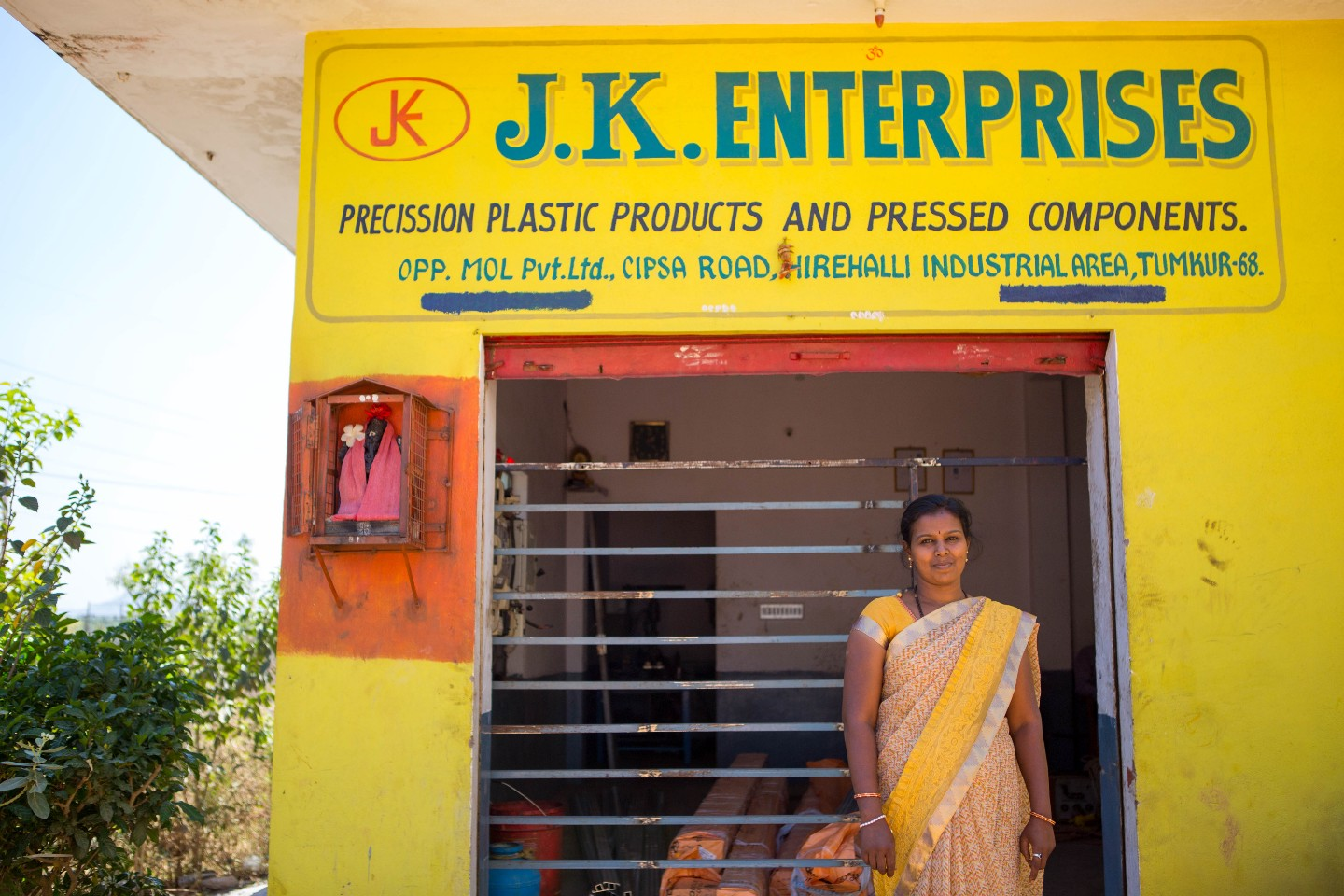 Vanaja runs a business in Bangalore, but it hasn't always been easy