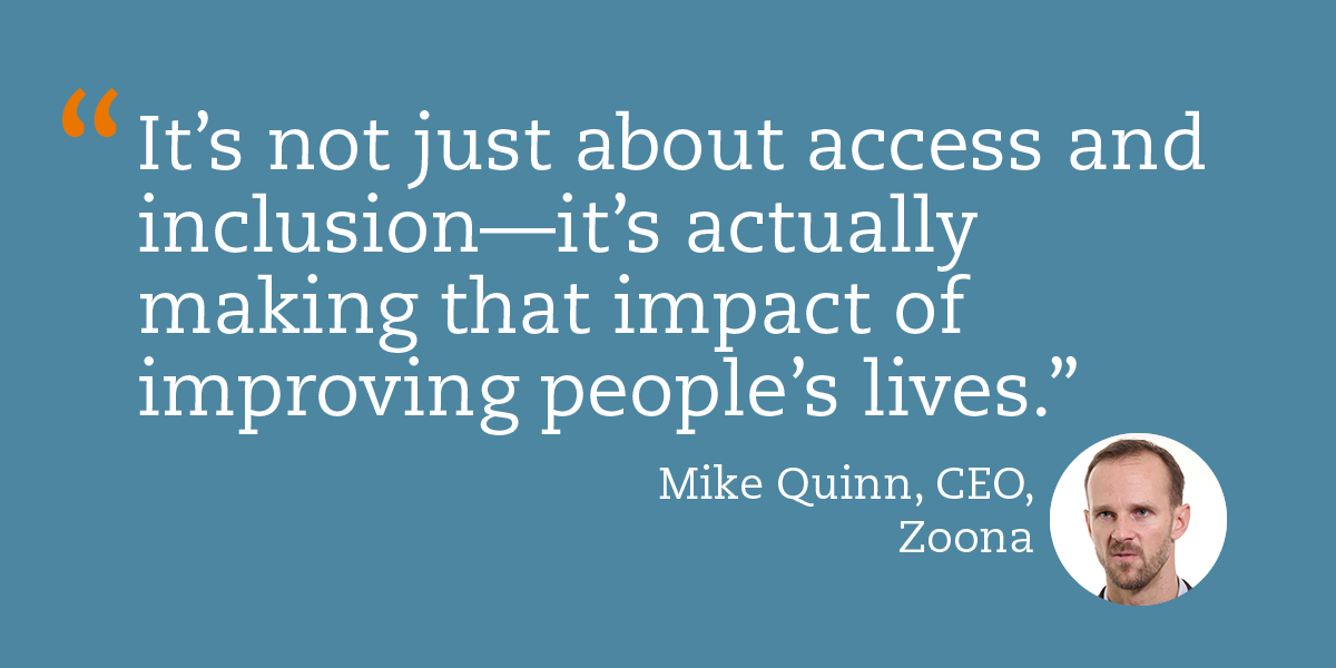 Mike Quinn of Zoona