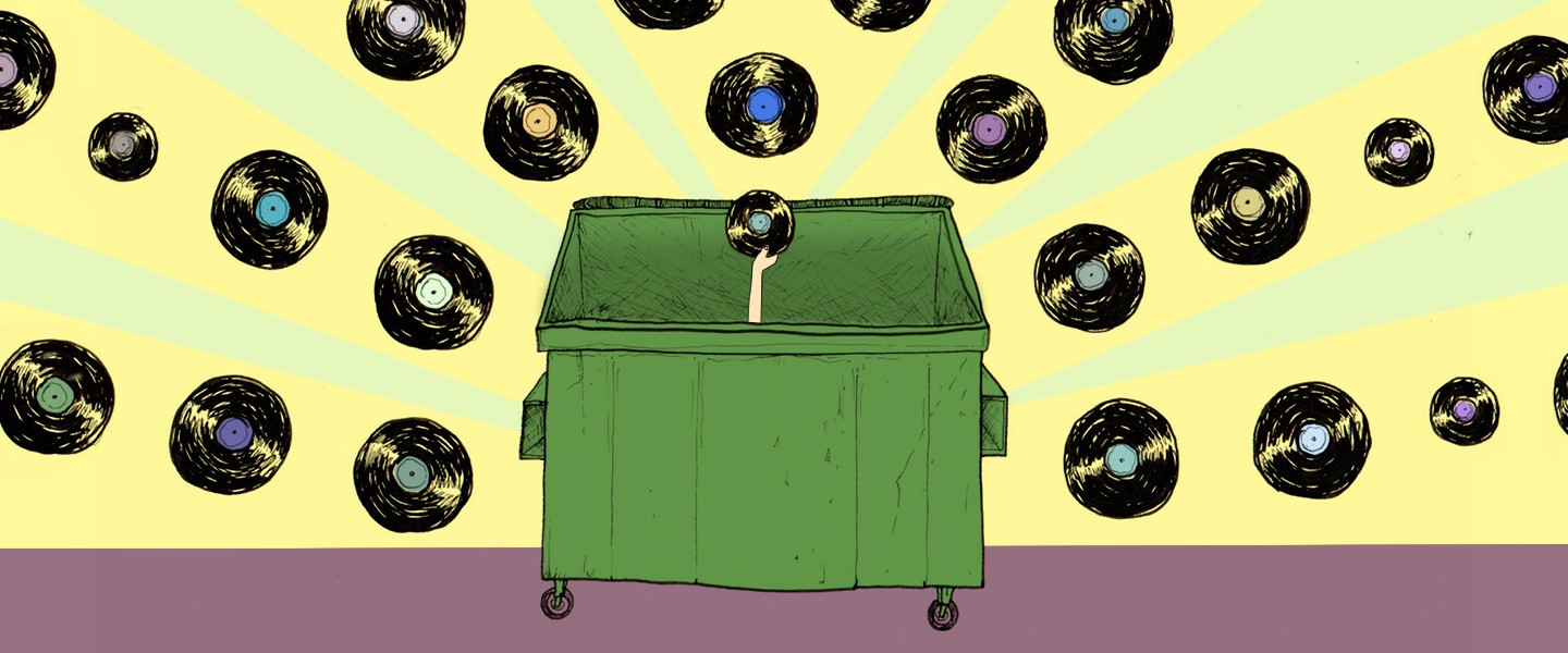 This Guy Found 50,000 Records in the Trash—and Kept All of Them