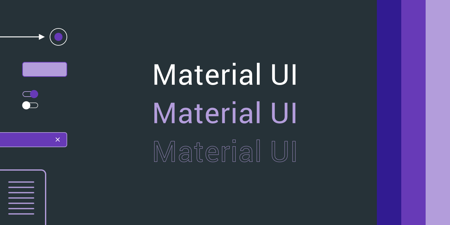 Building a product with a small Team? Use Material UI