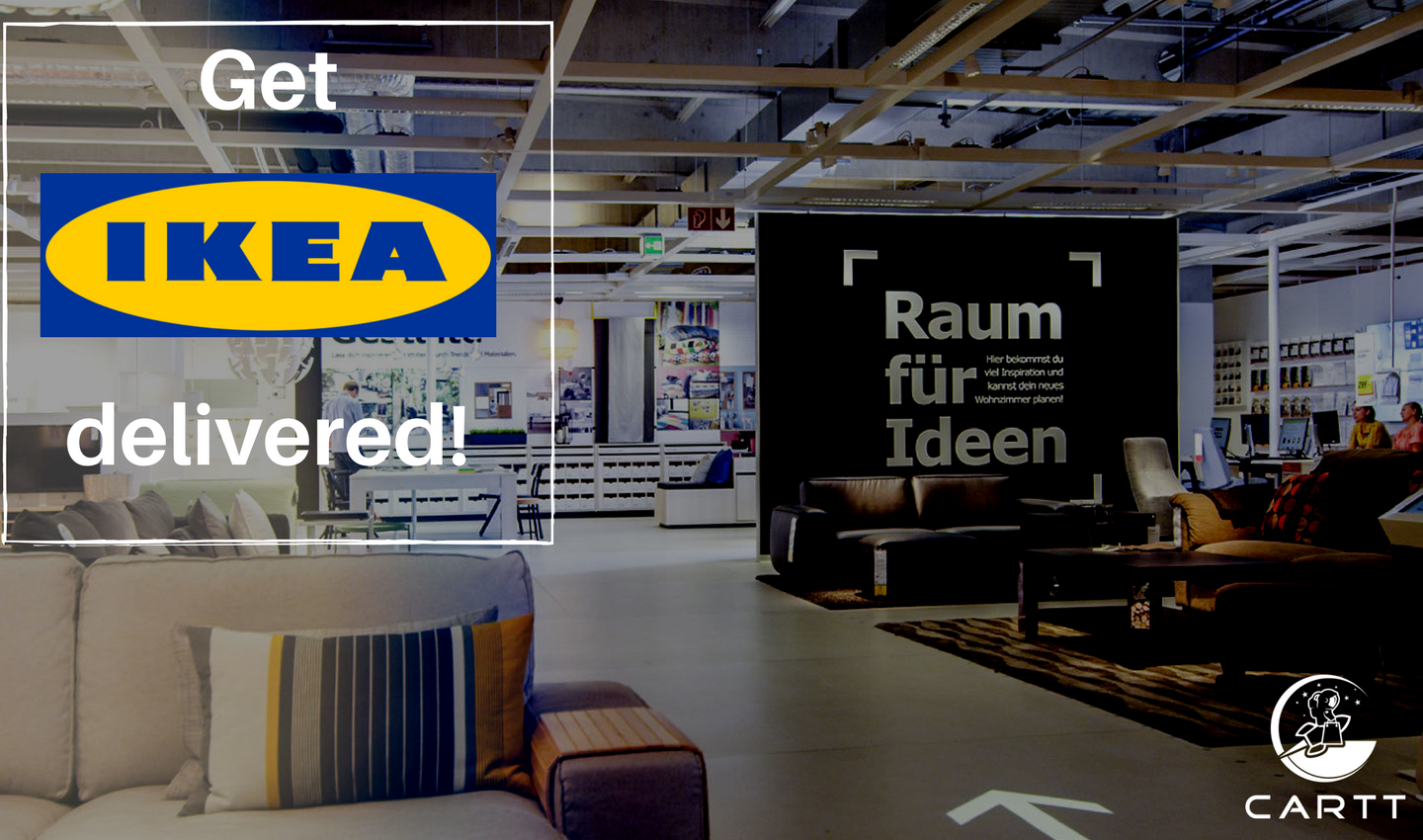 Road Trip Cartt Makes Ikea Delivery Affordable Carttdelivery