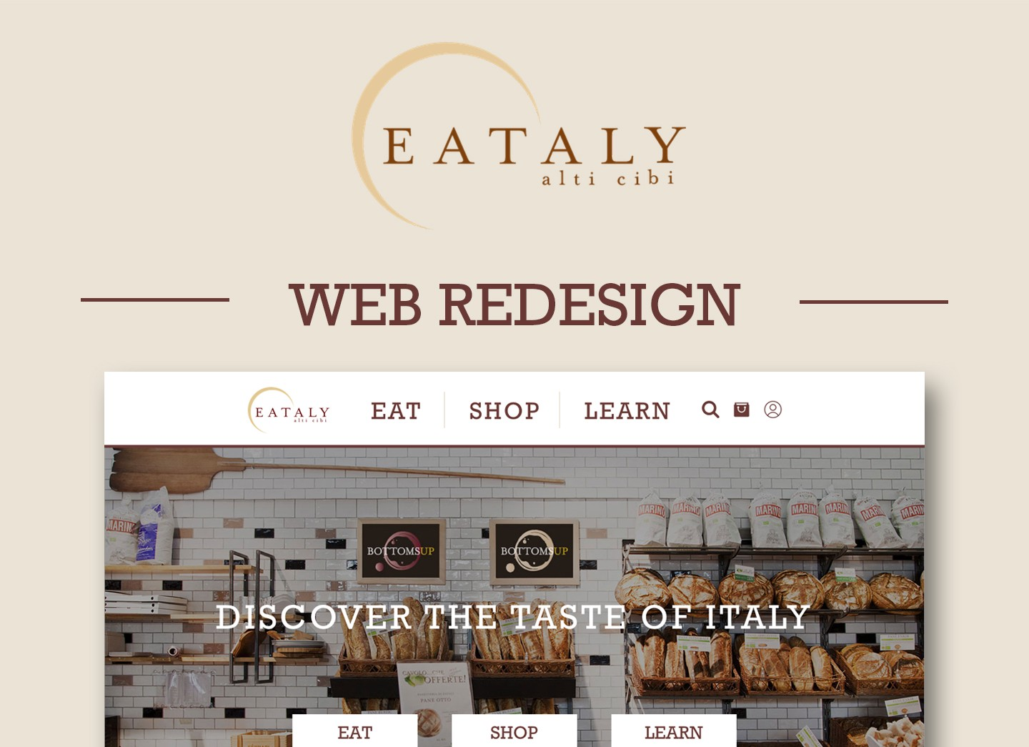 A fresh new look for Eataly! \u2013 Prototypr