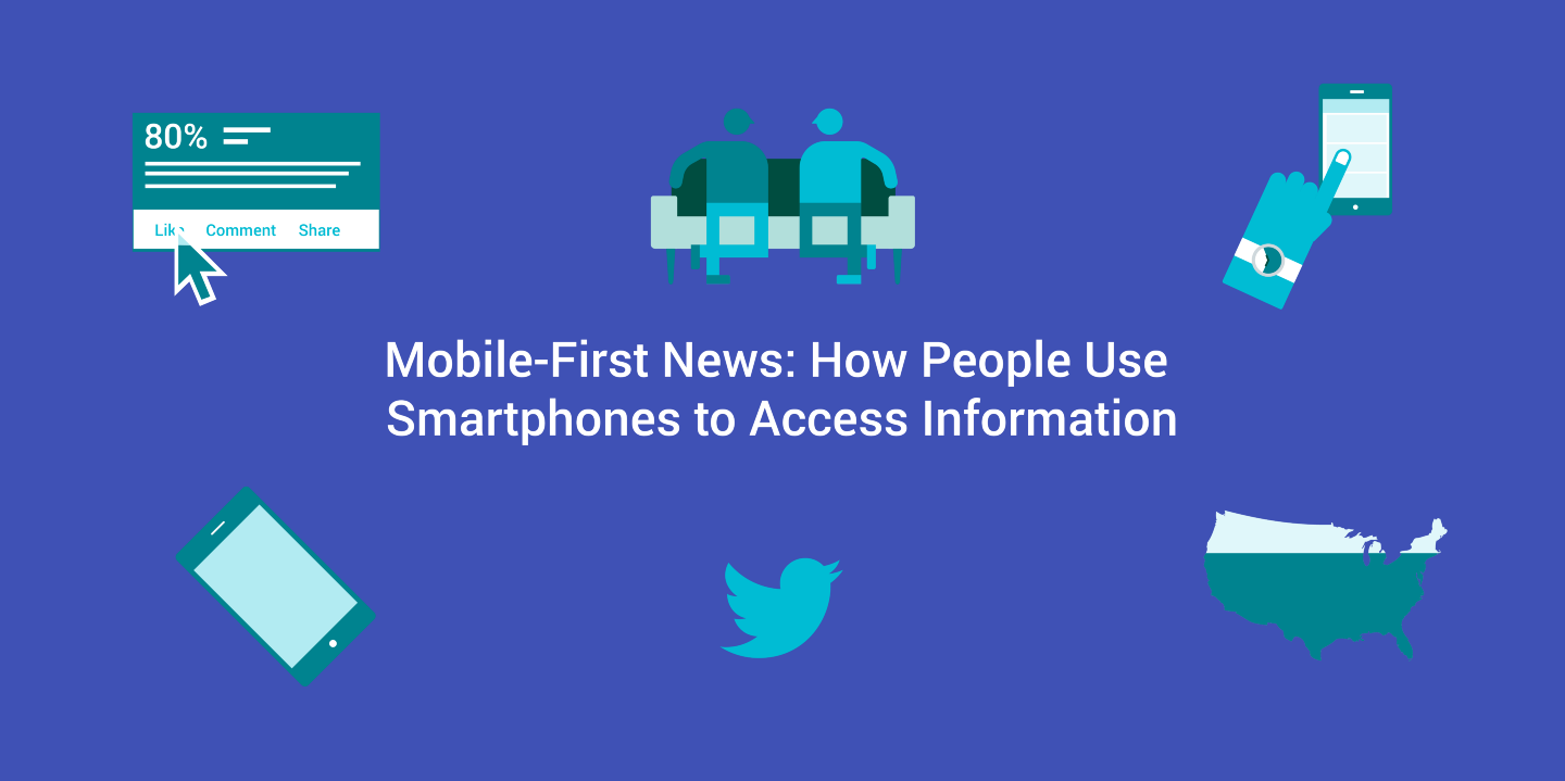 Mobile-First News: How People Use Smartphones to Access Information
