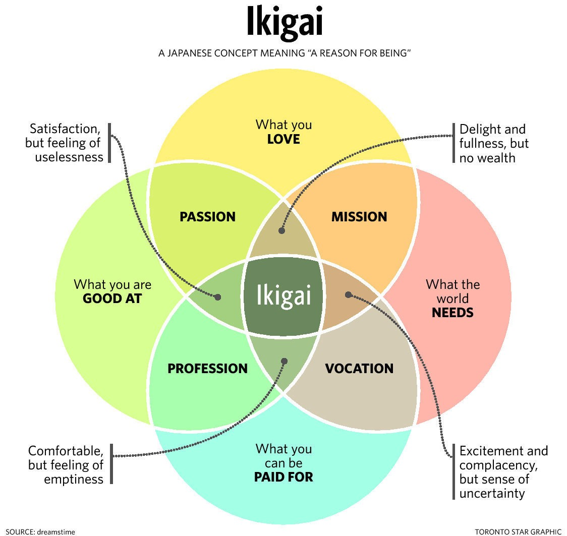 Image result for ikigai