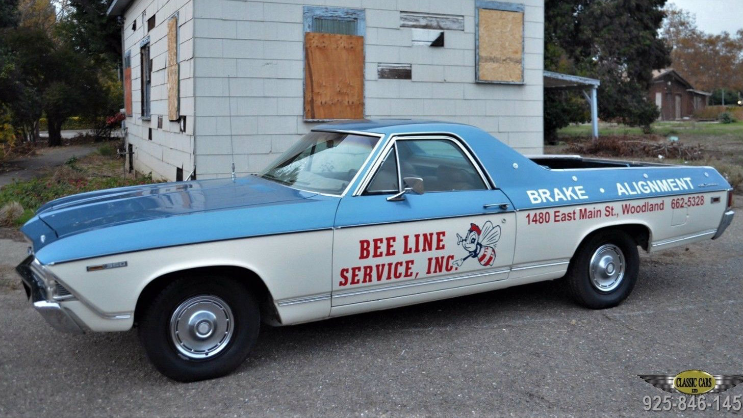 What A Gas! Propane-Powered 1969 El Camino – My Classic Garage