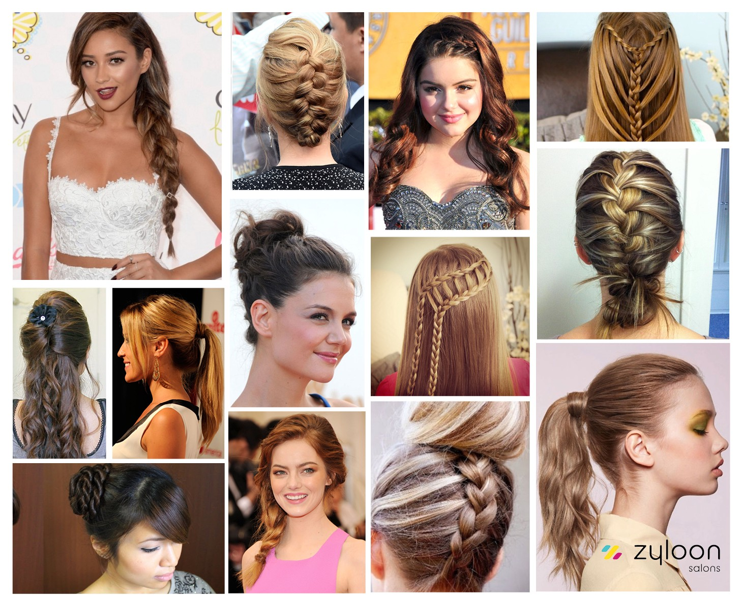 2 Easy Fast Hairdos For Long Hair Zyloon