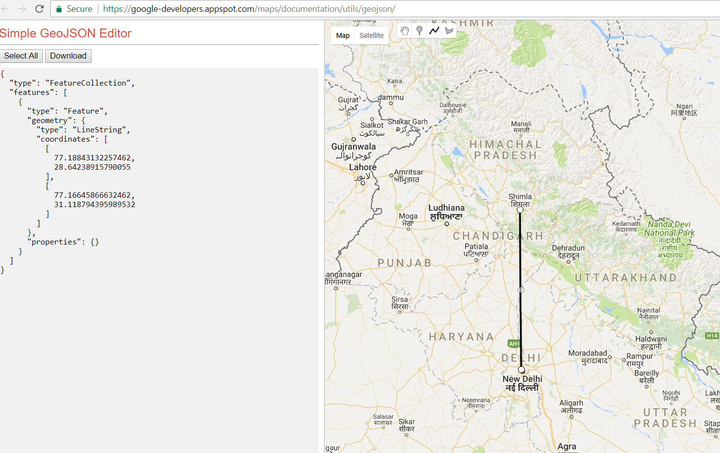 A primer on geojson standard and visualization tools this visualization is really helpful to understand geojson concept you may also download ojson file in a single click gumiabroncs Images