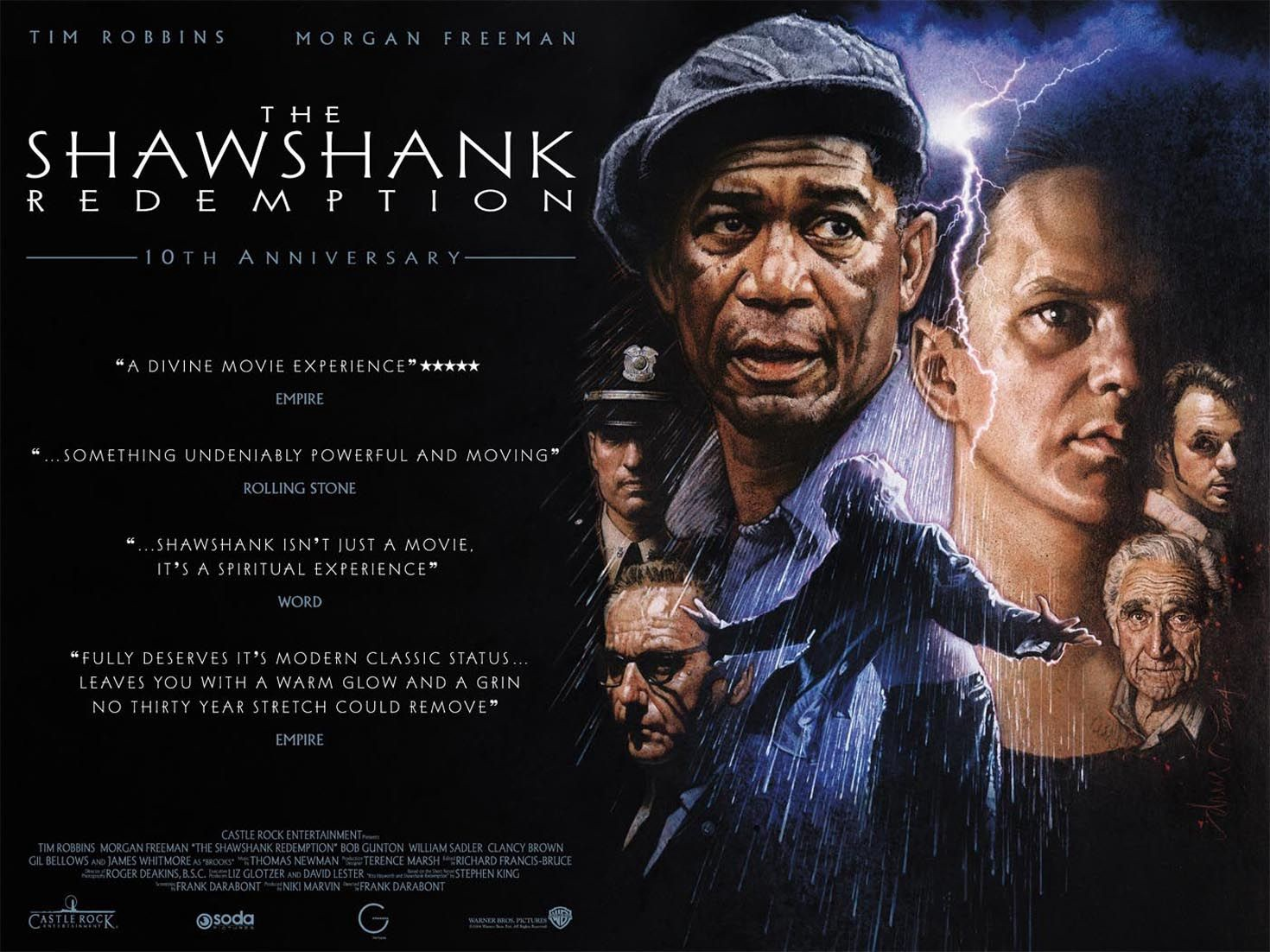 "movie analysis ""the shawshank redemption"" go into the story"