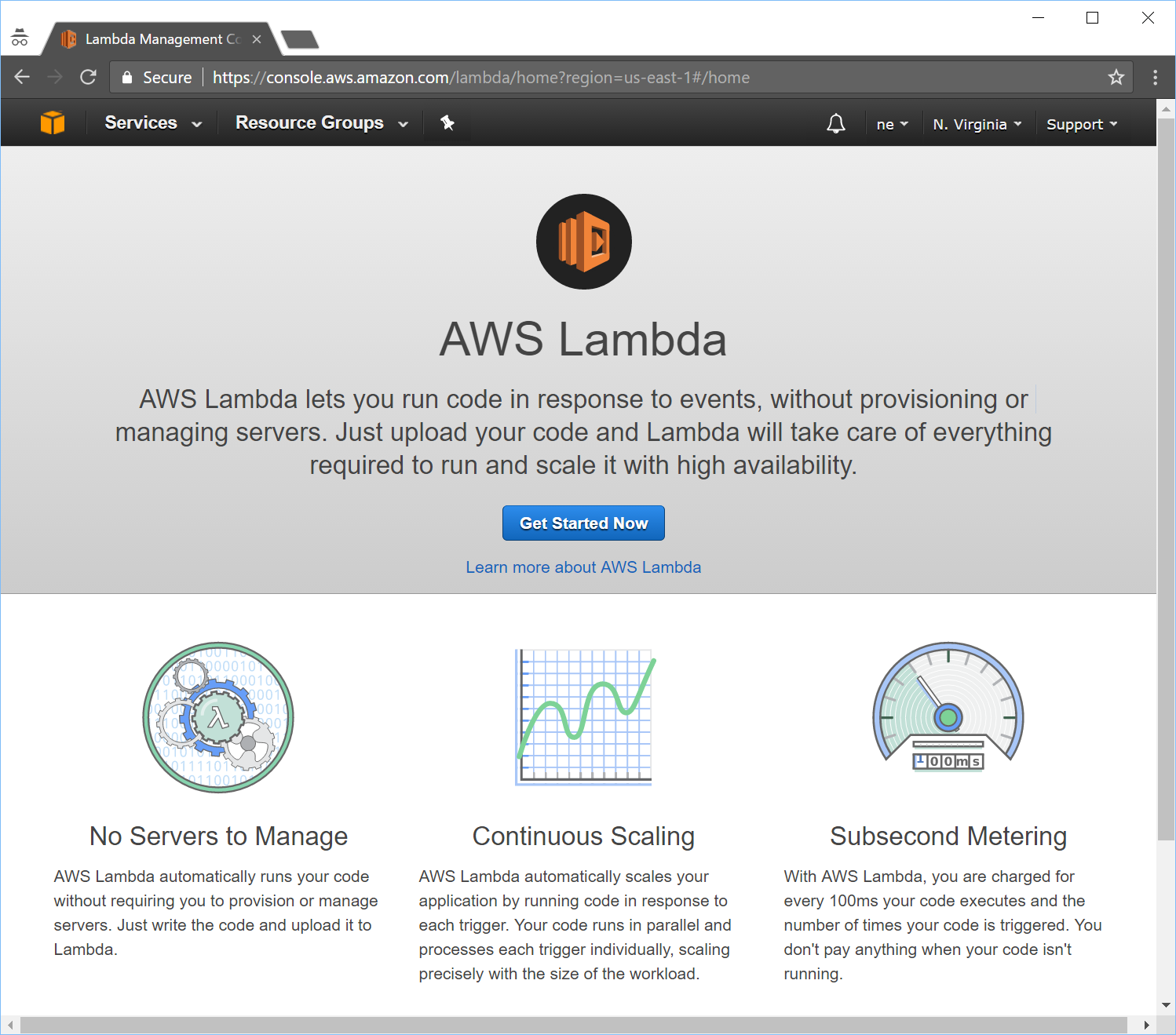 Tutorial using mturk together with aws lambda happenings at mturk click to get started and youll be taken to a page to select an aws lambda blueprint blueprints are simply starting points you can use to get going faster malvernweather Images
