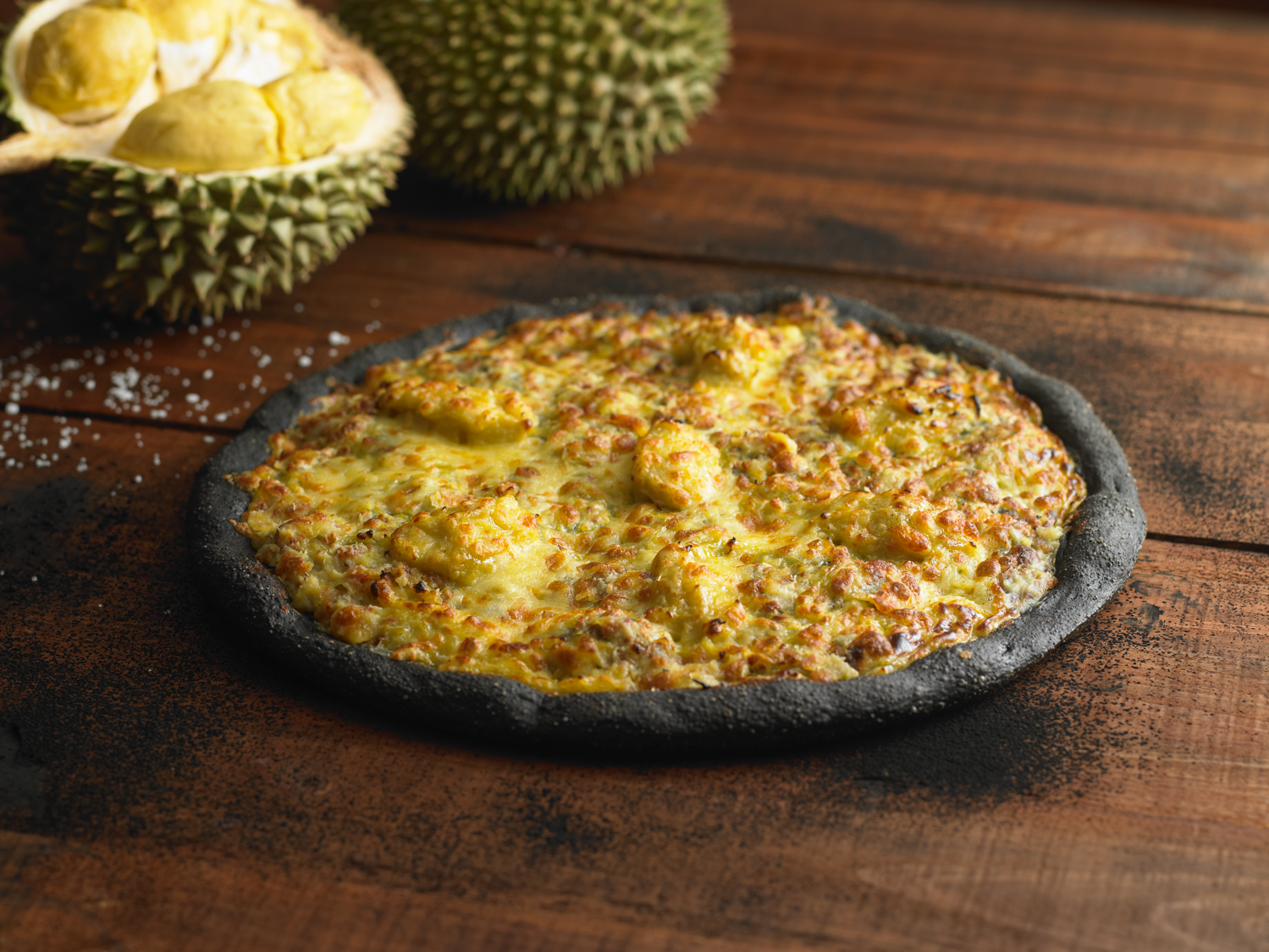 Pezzo introduces the durian king pizza the halal eater ccuart Image collections