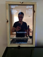 Building a Smart Mirror with Raspberry Pi 3