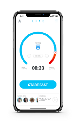Seize LIFE with the LIFE Fasting Tracker app