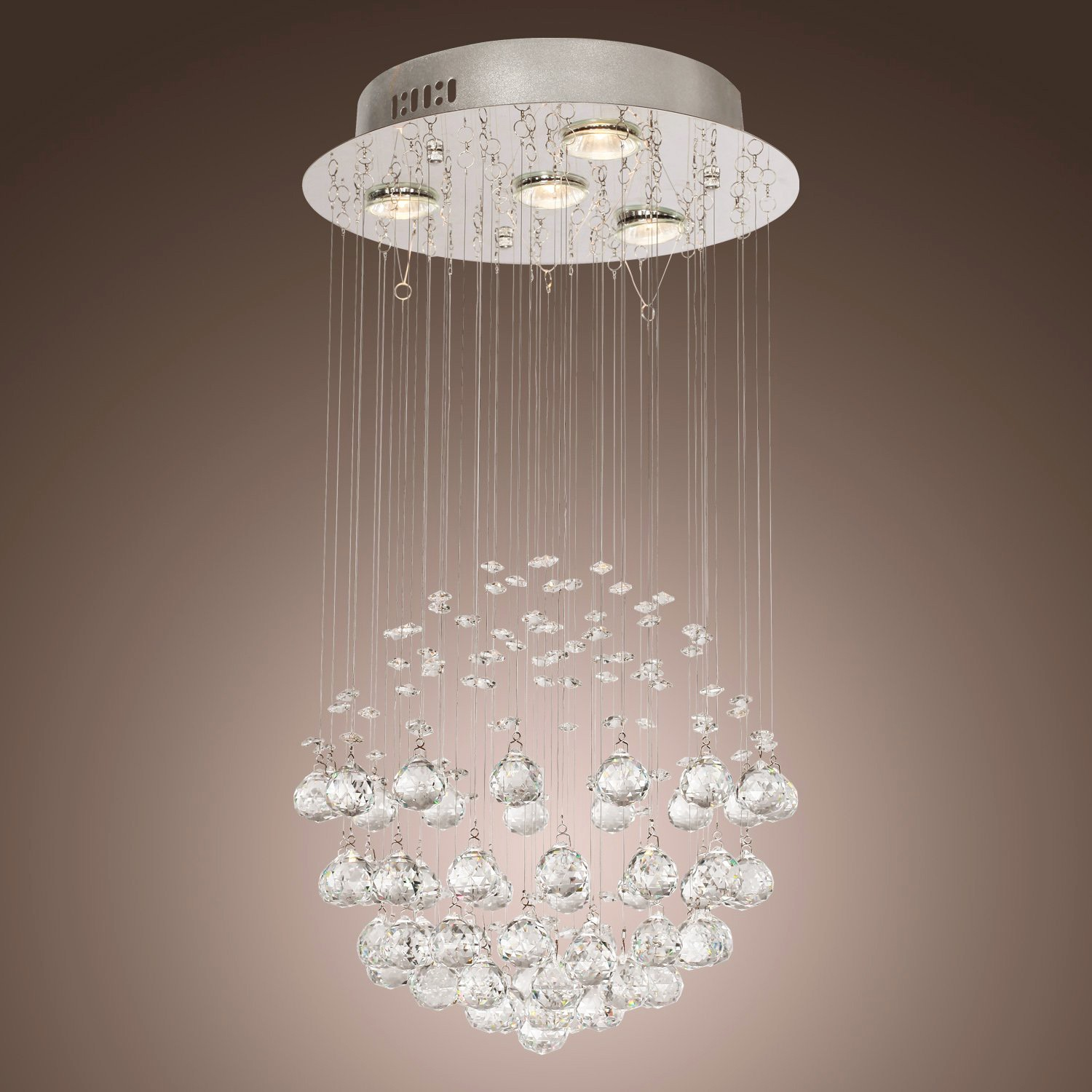 Best 4 light globe shaped cascading crystal ceiling lighting flush mount 4 light globe shaped cascading crystal ceiling lighting flush mount aloadofball Choice Image