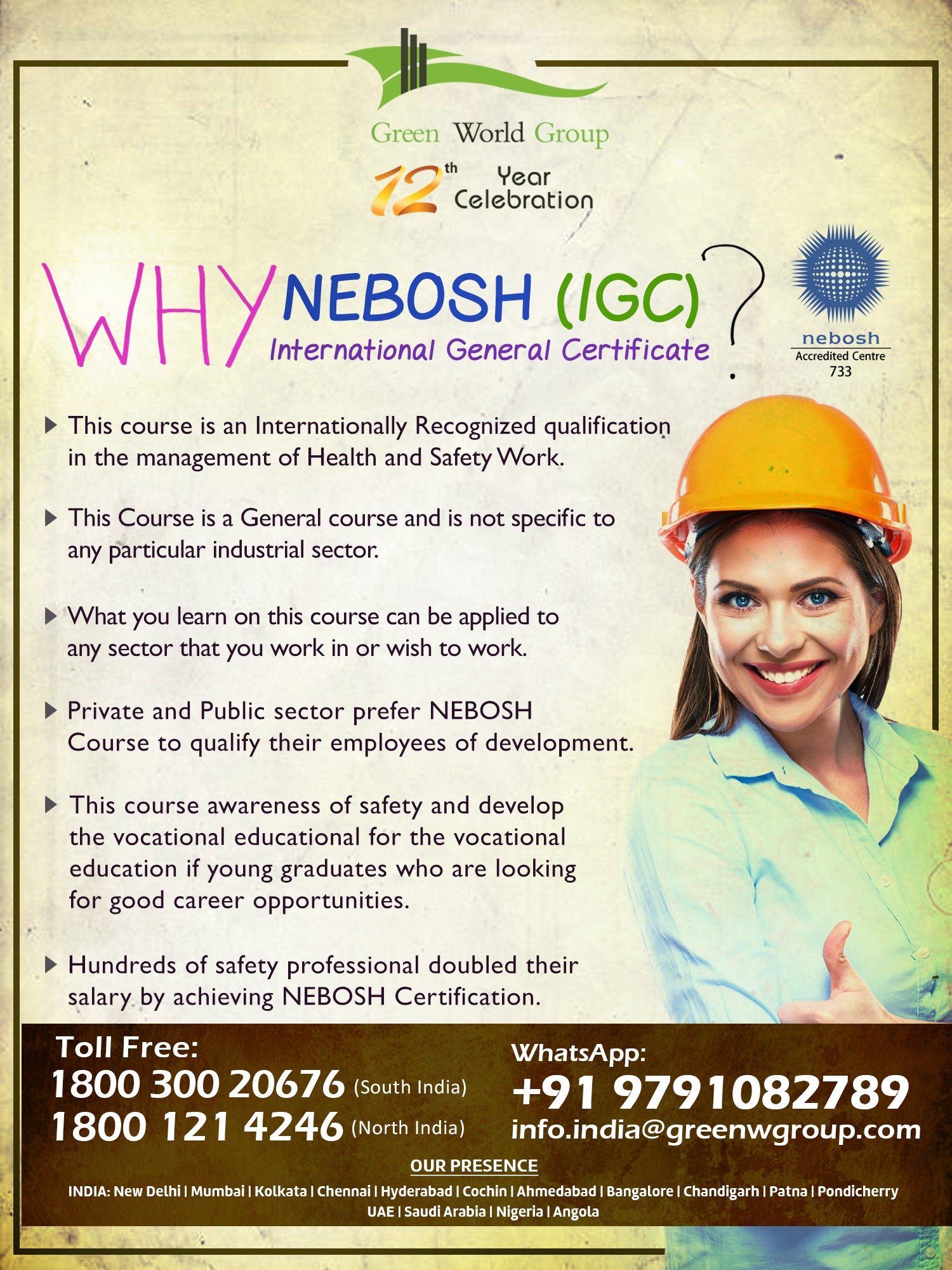 Join Our Nebosh Course In Mumbai Easy To Pass Nebosh Exam