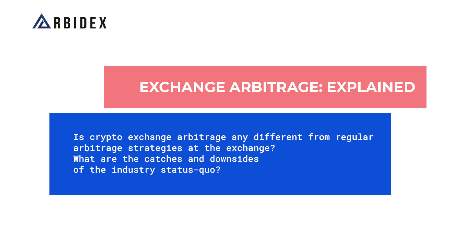 Arbitration of crypto-currencies. Earnings on the difference between the cost of the same asset on different trading floors