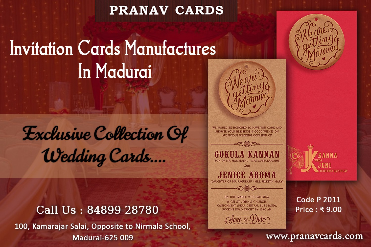 All It Takes to Welcome — Grand Invitations From www.pranavcards.com ...