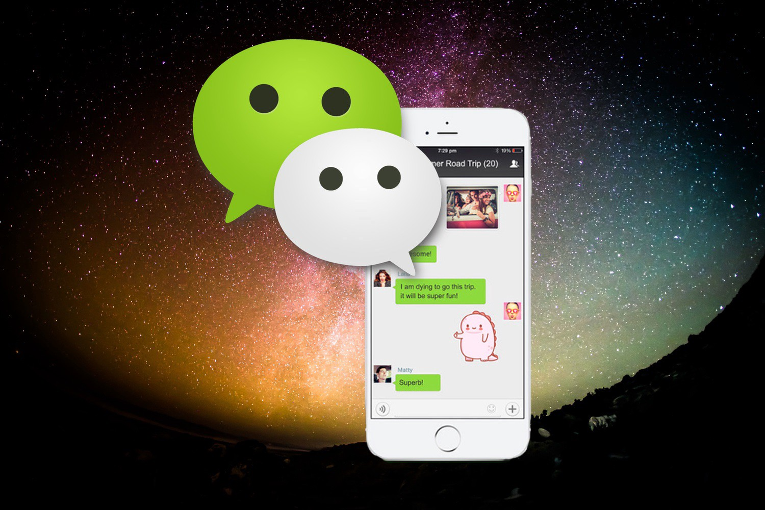 China wechat and the origins of chatbots chatbots magazine reheart Choice Image