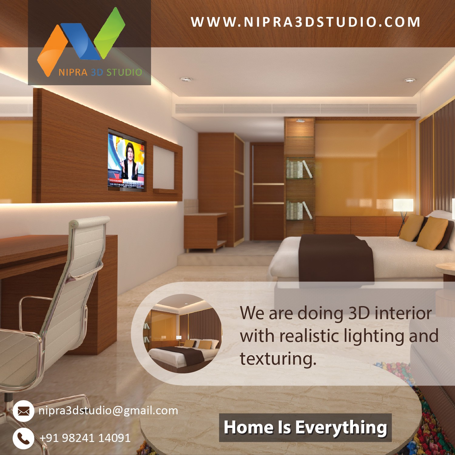 Either It Is A 3D Interior Designing Or Rendering Service, We Look For The  Best Solutions To Keep Our Customers Happy.