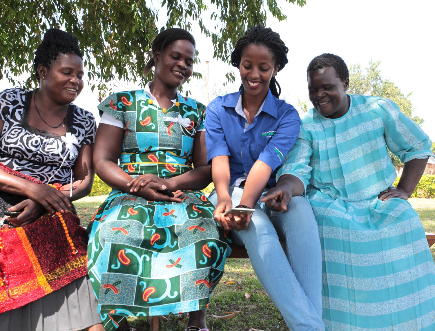 Esther Karwera, second from right. / Photo courtesy of Esther Karwera