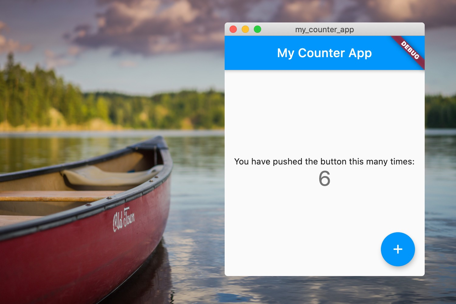 Flutter Riverpod tutorial: Counter app