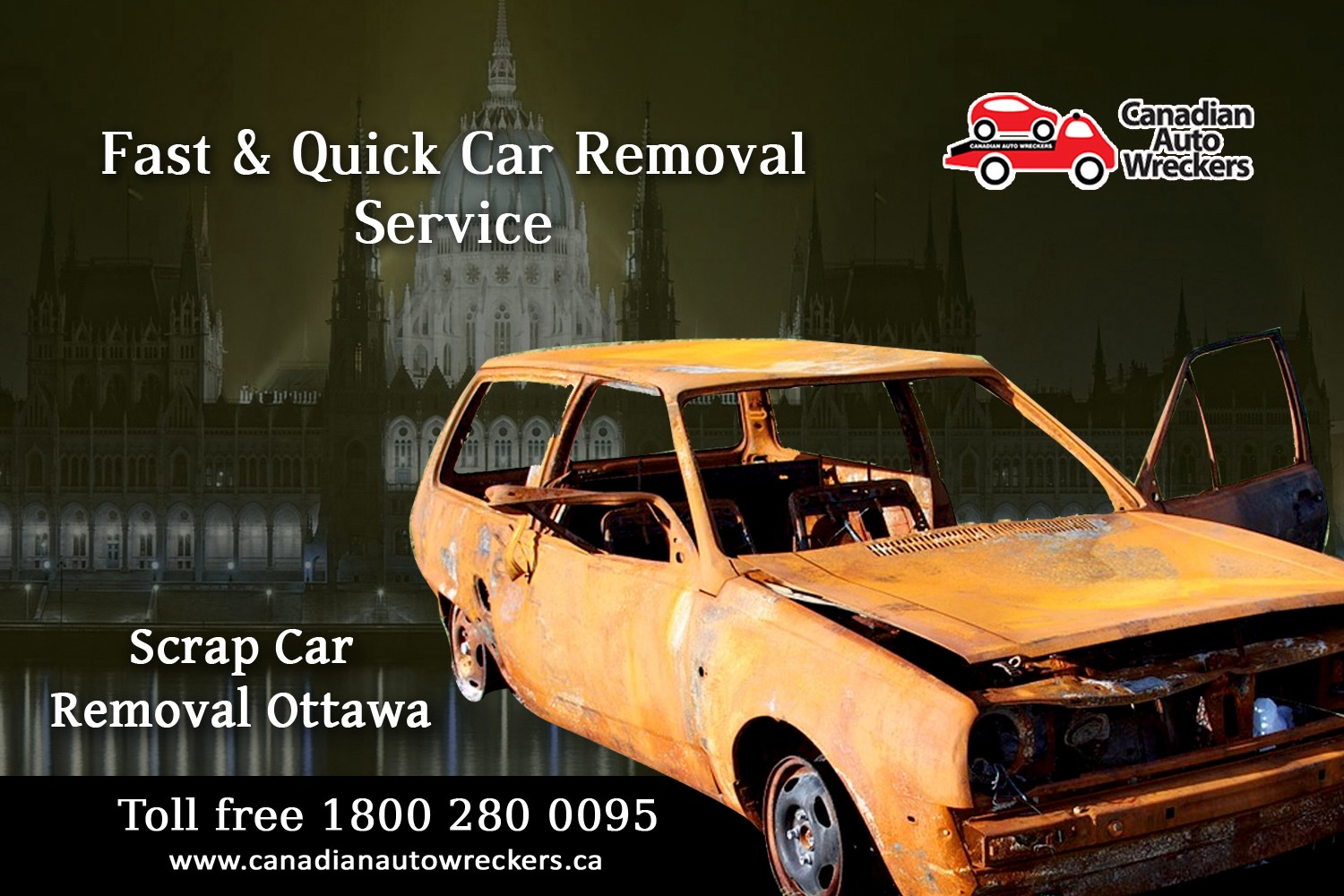 GET TOP CASH FOR YOUR SCRAP CARS — CANADIAN AUTO WRECKERS WILL BEAT ...