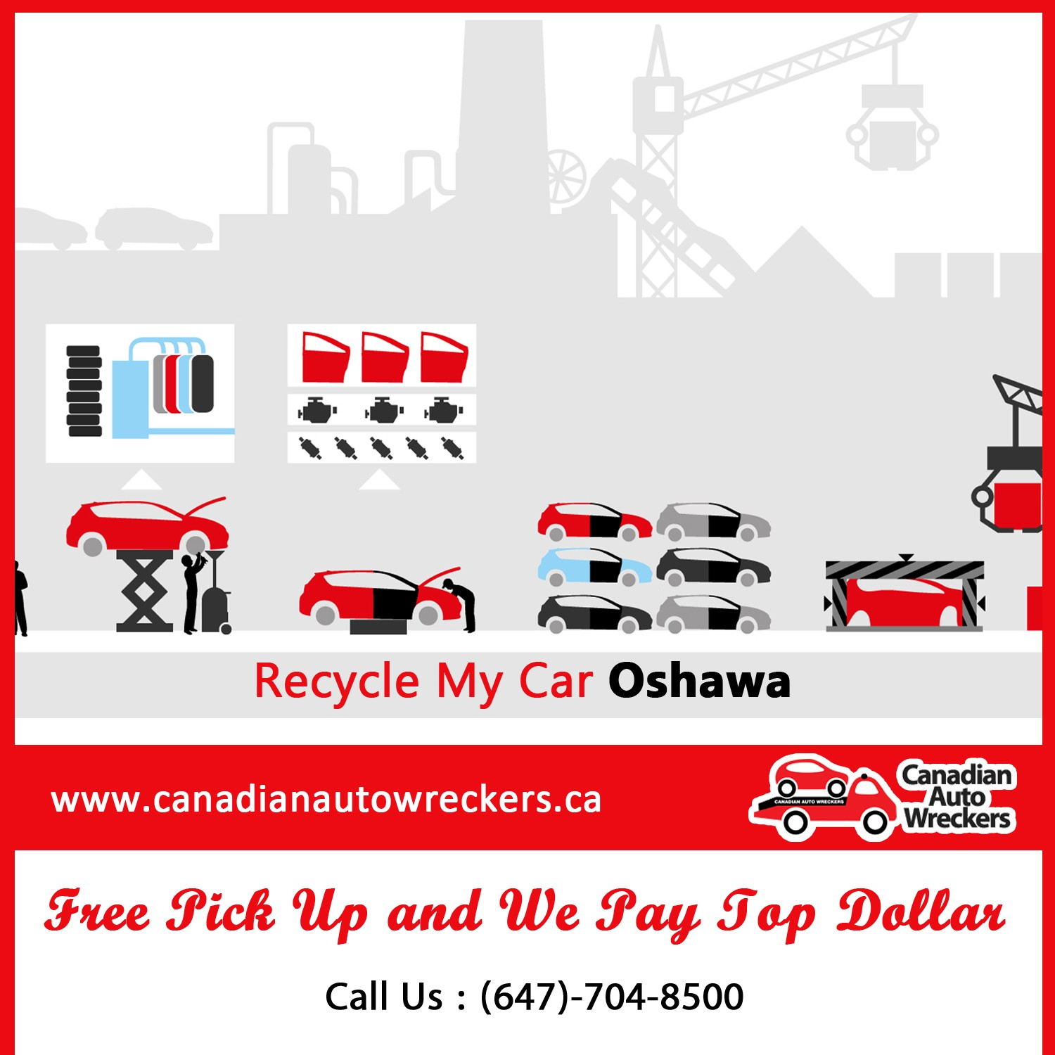 Get Answer For The Question Where To Recycle My Car Oshawa And Get ...