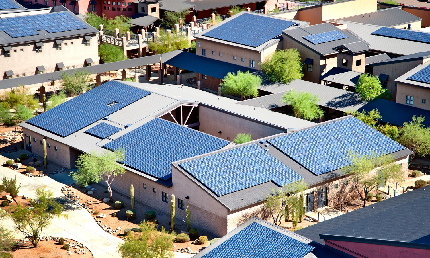 ... Of Solar Panels On The Roofs Of All New Residential And Commercial  Buildings Between One And Ten Stories. (Taller Buildings Require  Significantly More ...