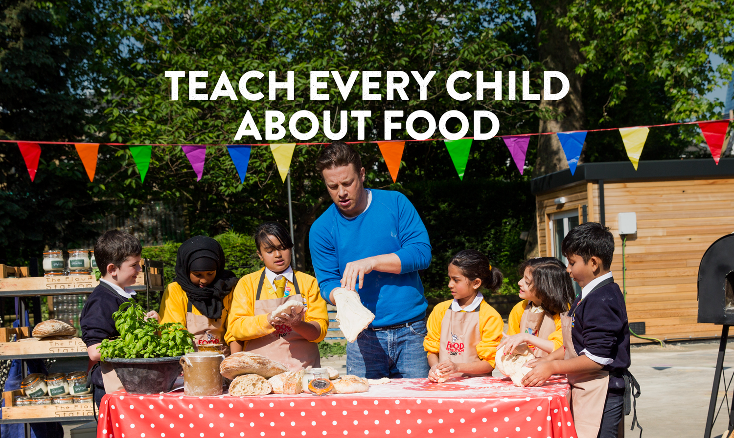 Jamie Oliver: I Don't Want My Kids To Have The Life I've Got picture