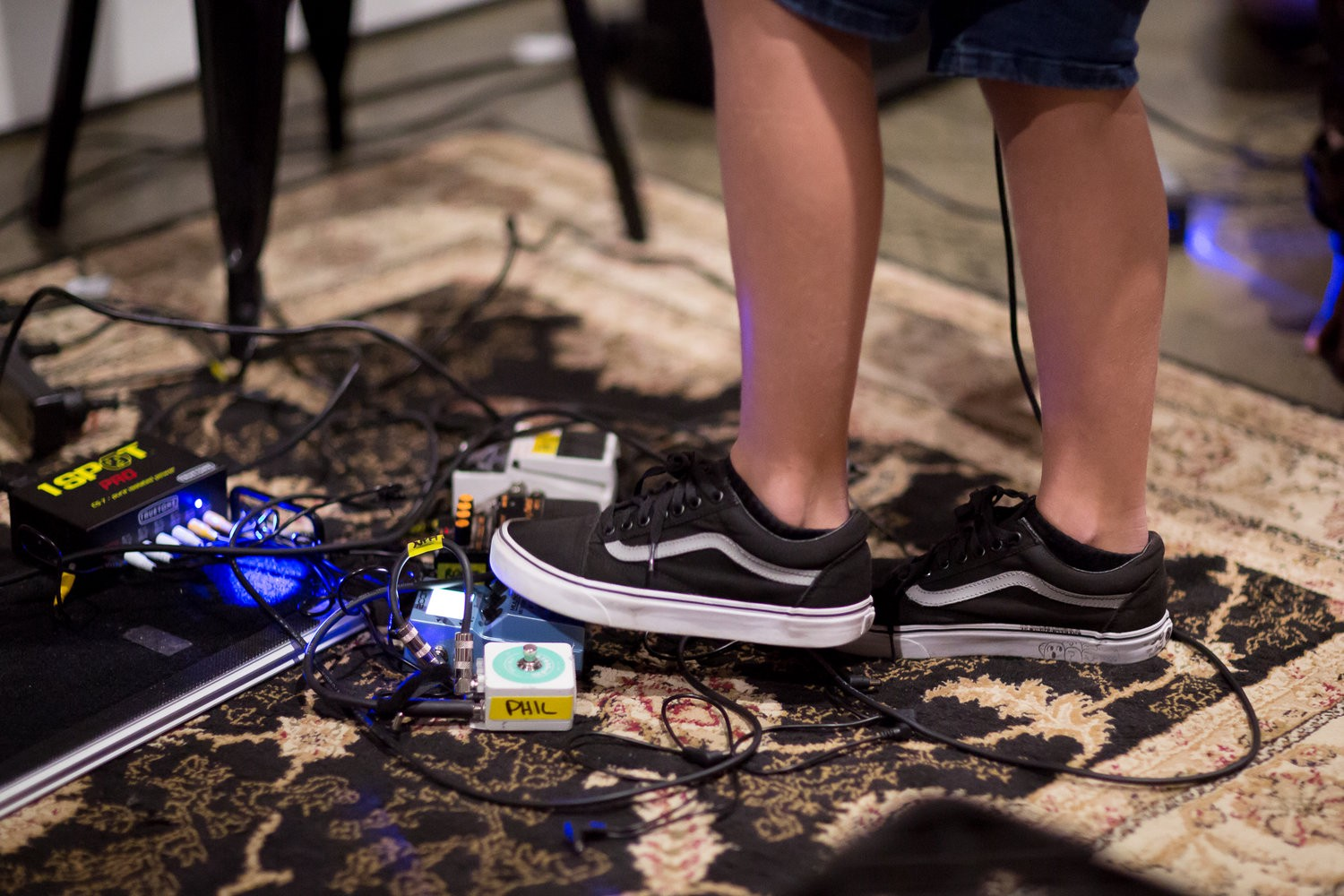 Girls Rock Melbourne Intro To Pedal Boards Sophie Benjamin Medium Collection Of Circuit Used For Source Audio Pedals