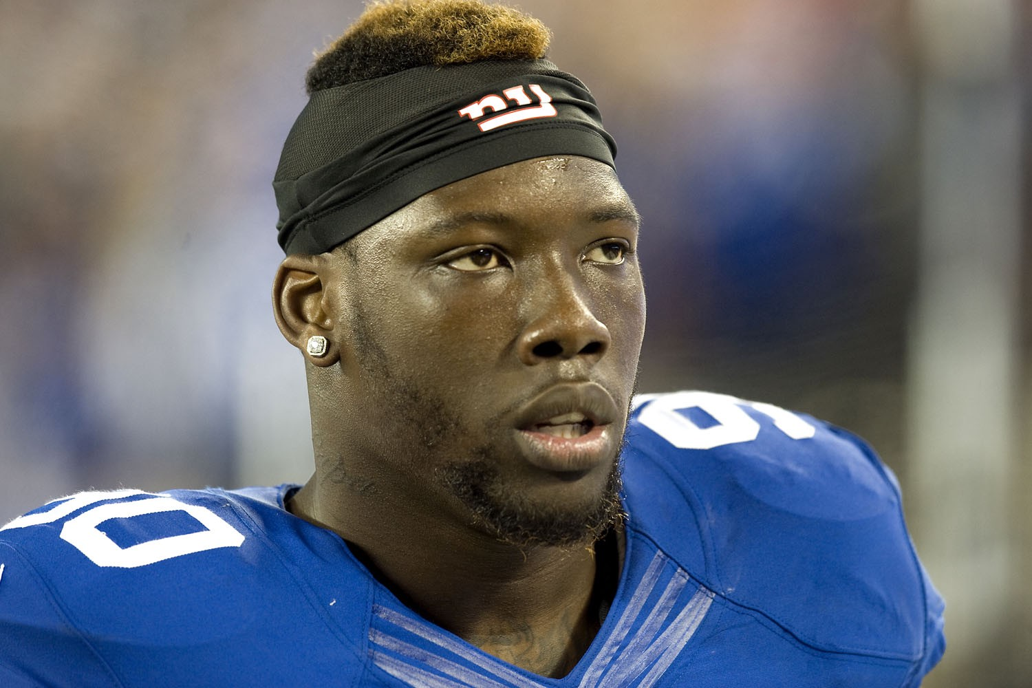 Jason Pierre Paul Blows f Leg While Celebrating Return to Giants