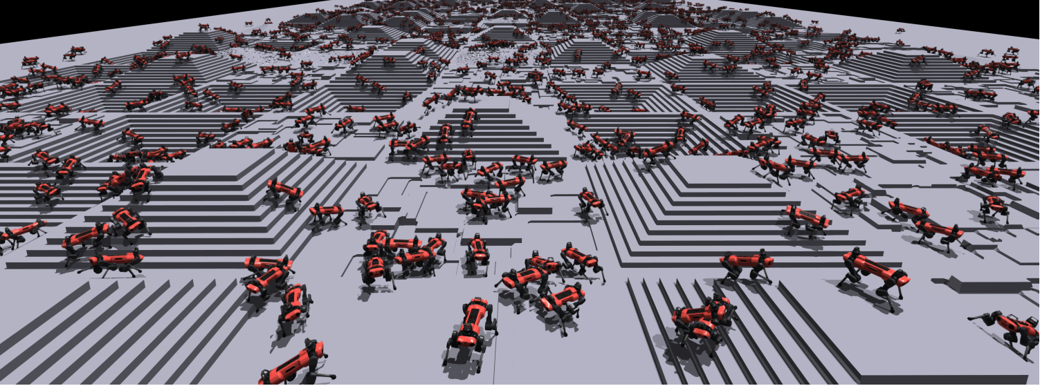 ETH Zurich and NVIDIA's Massively Parallel Deep RL Enables Robots to Learn to Walk in Minutes