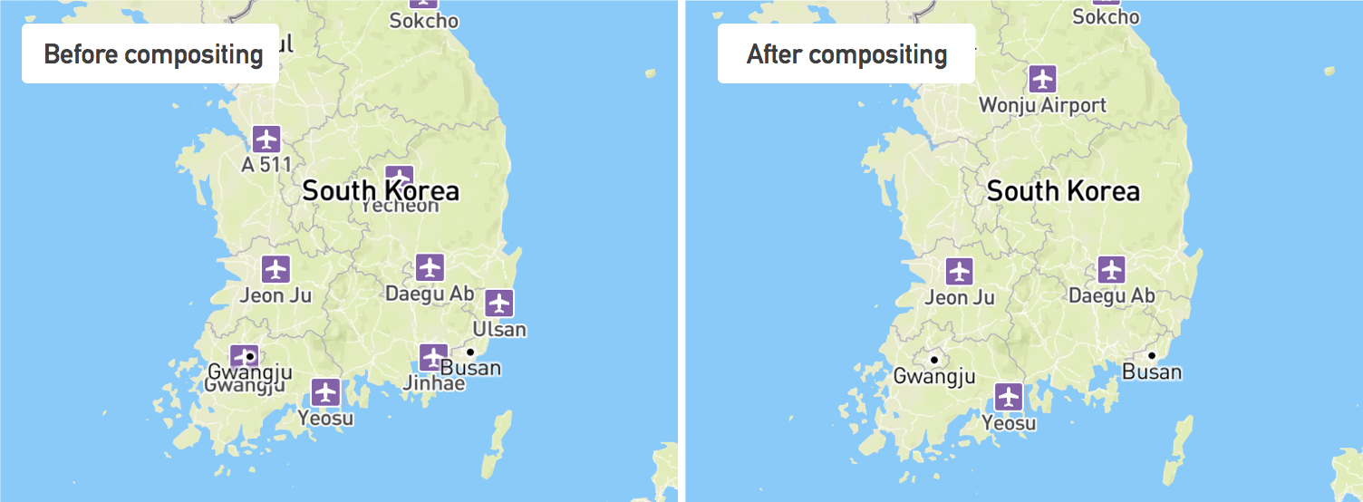 Improved label placement in Mapbox Studio Points of interest