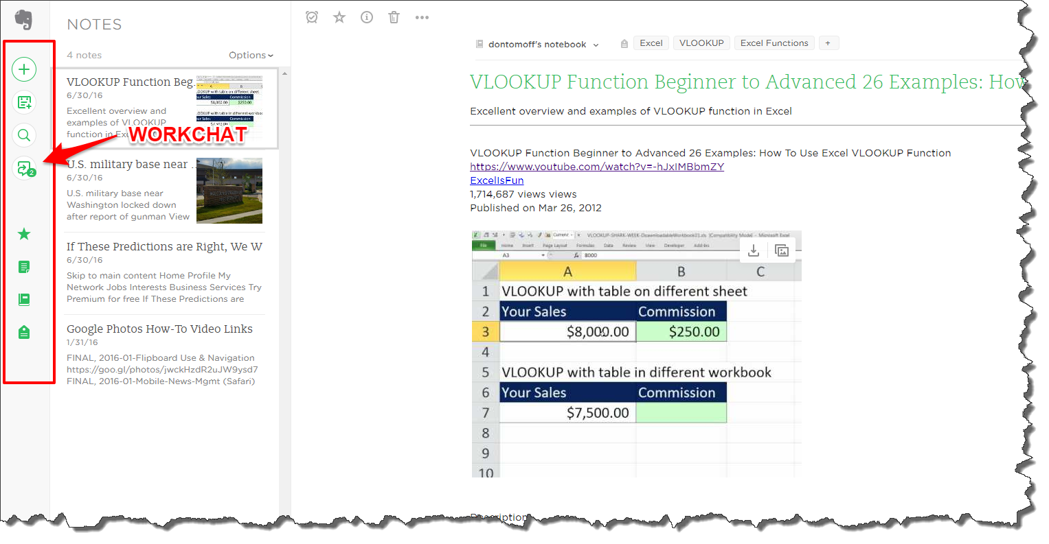 Workbooks shared workbook excel : How To: Using Evernote WorkChat for Collaboration – Don Tomoff ...