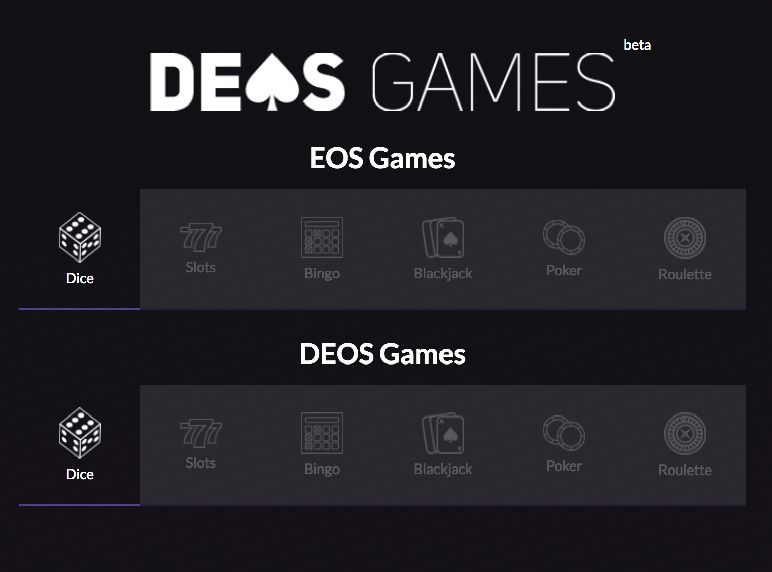 deos dice 110k update bet with eos referral system and rake back