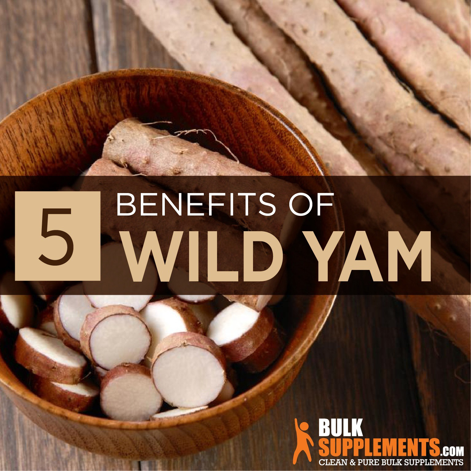 Wild Yam Extract: Benefits, Side Effects & Dosage
