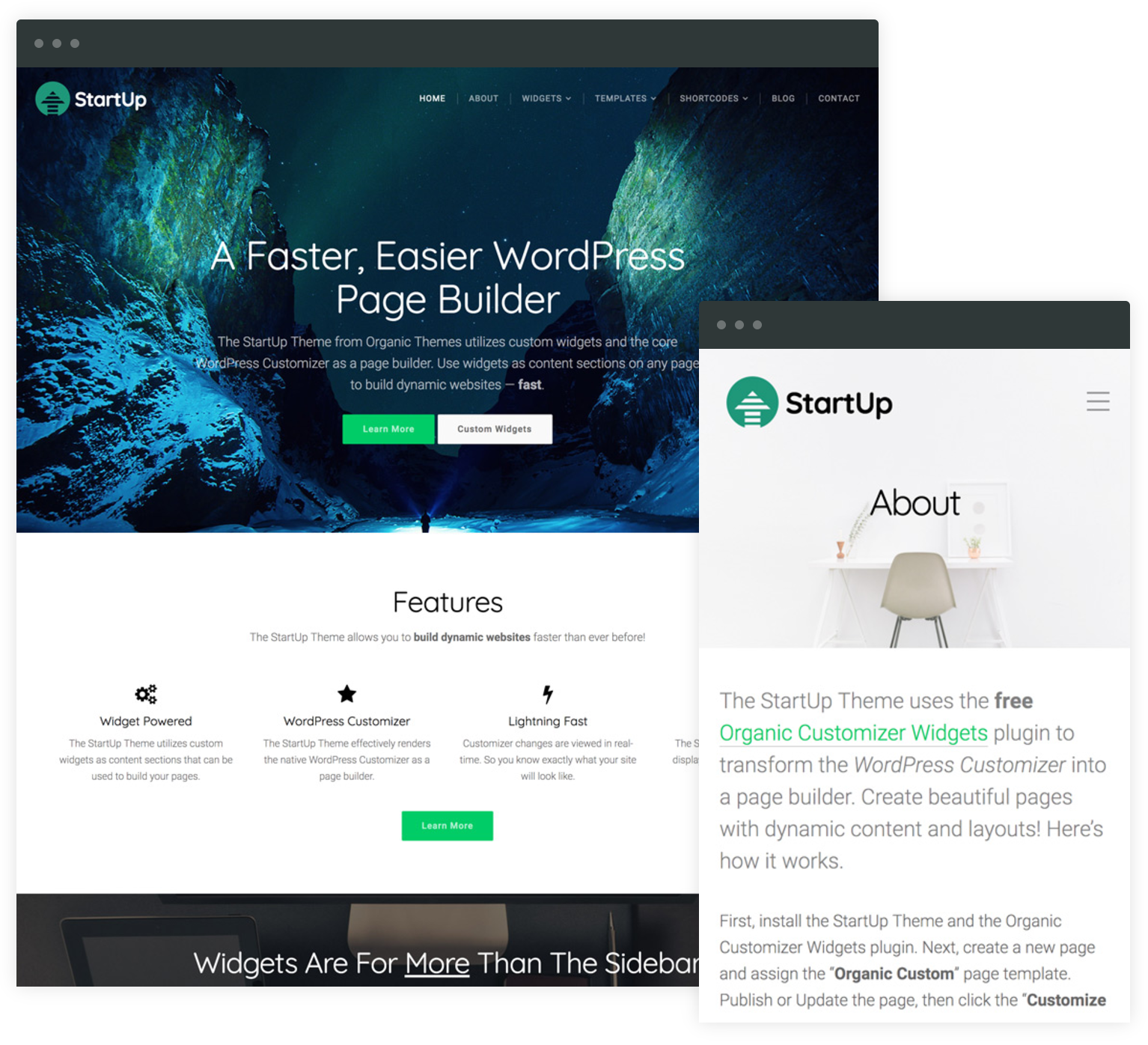 Transform the wordpress customizer into a page builder in addition to the startup theme the plugin is compatible with virtually any theme in the wordpress directory of course it would make us happy if you maxwellsz
