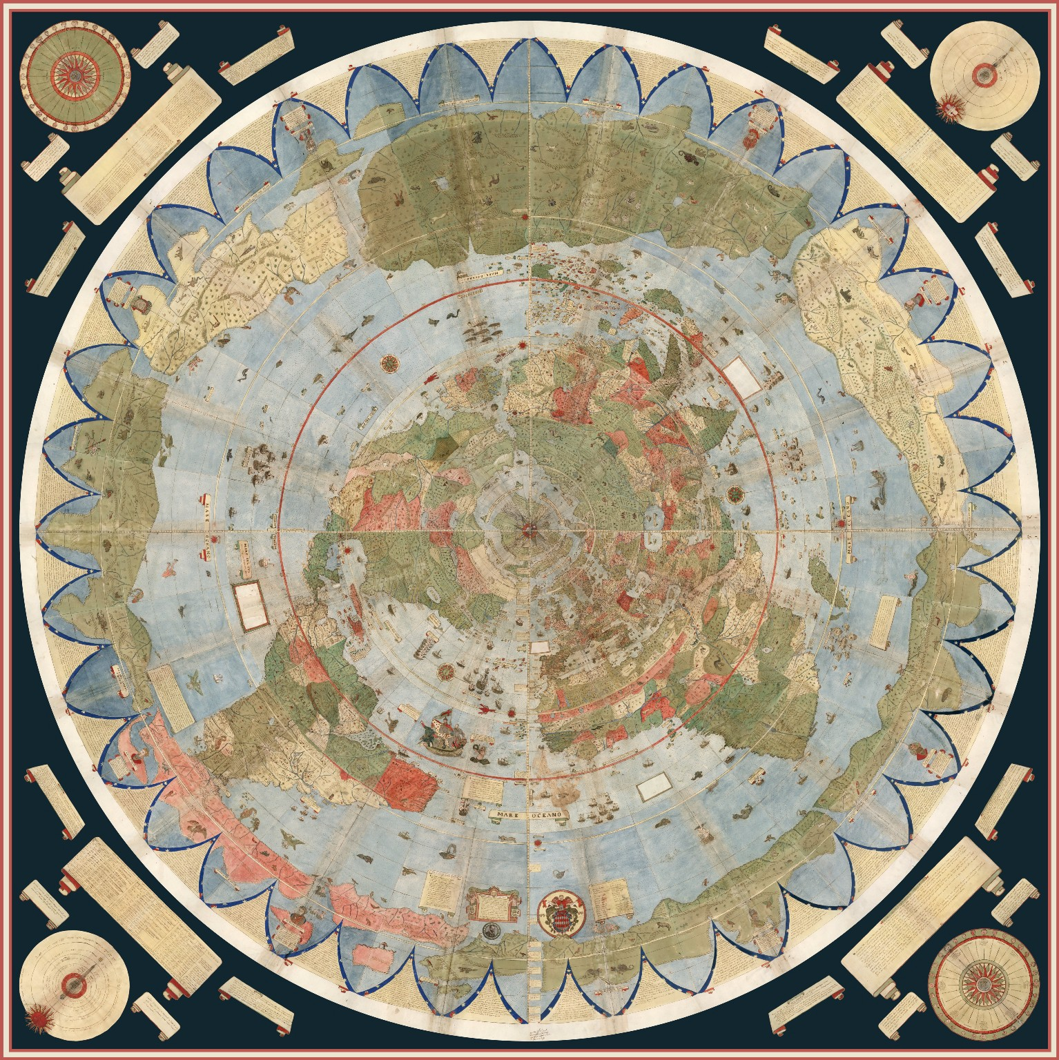 The largest early world map is unveiled for the first time gumiabroncs Image collections