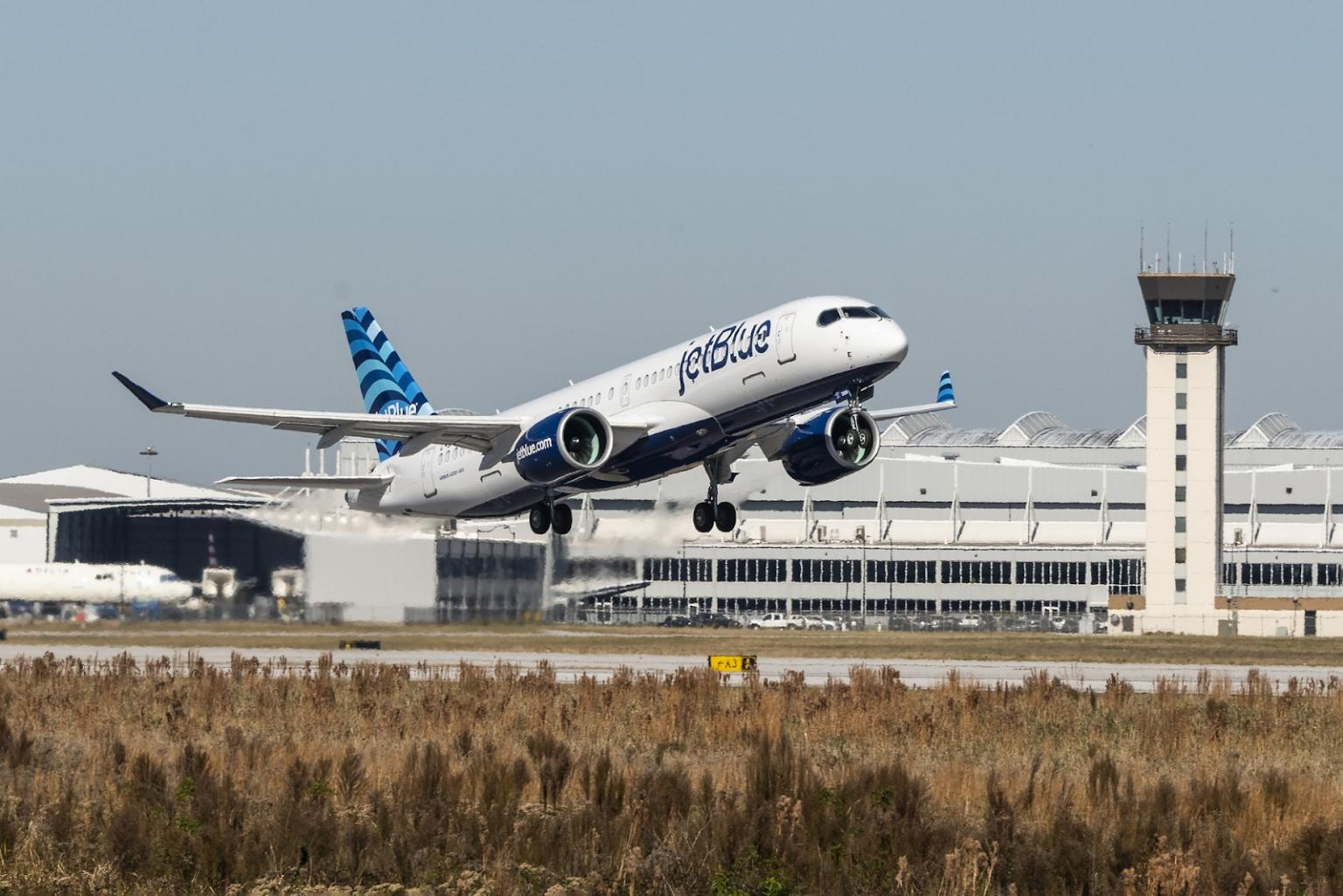 JetBlueTakes Delivery of its First A220–300.