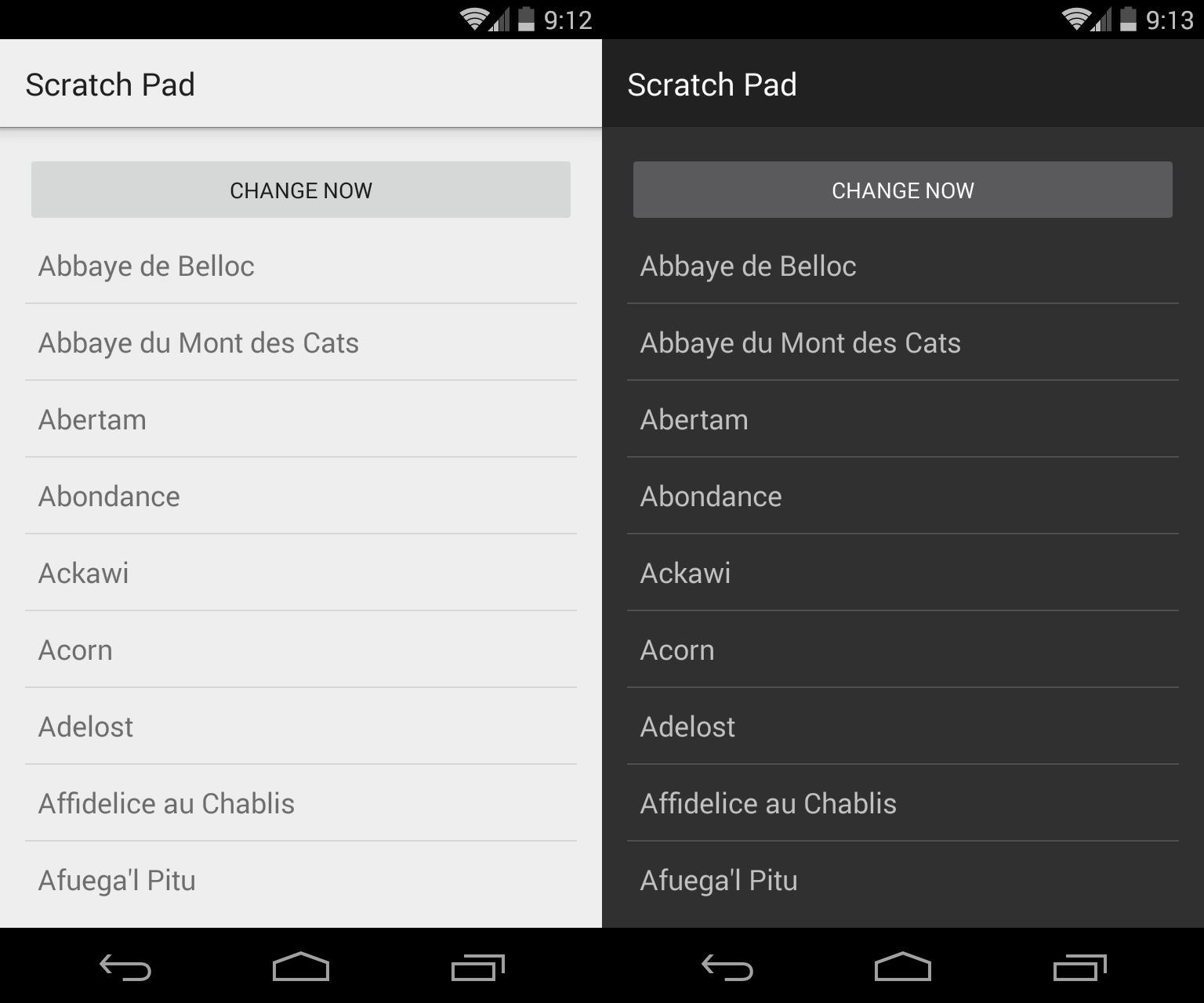 Android changing app theme at runtime androidpub voltagebd Images