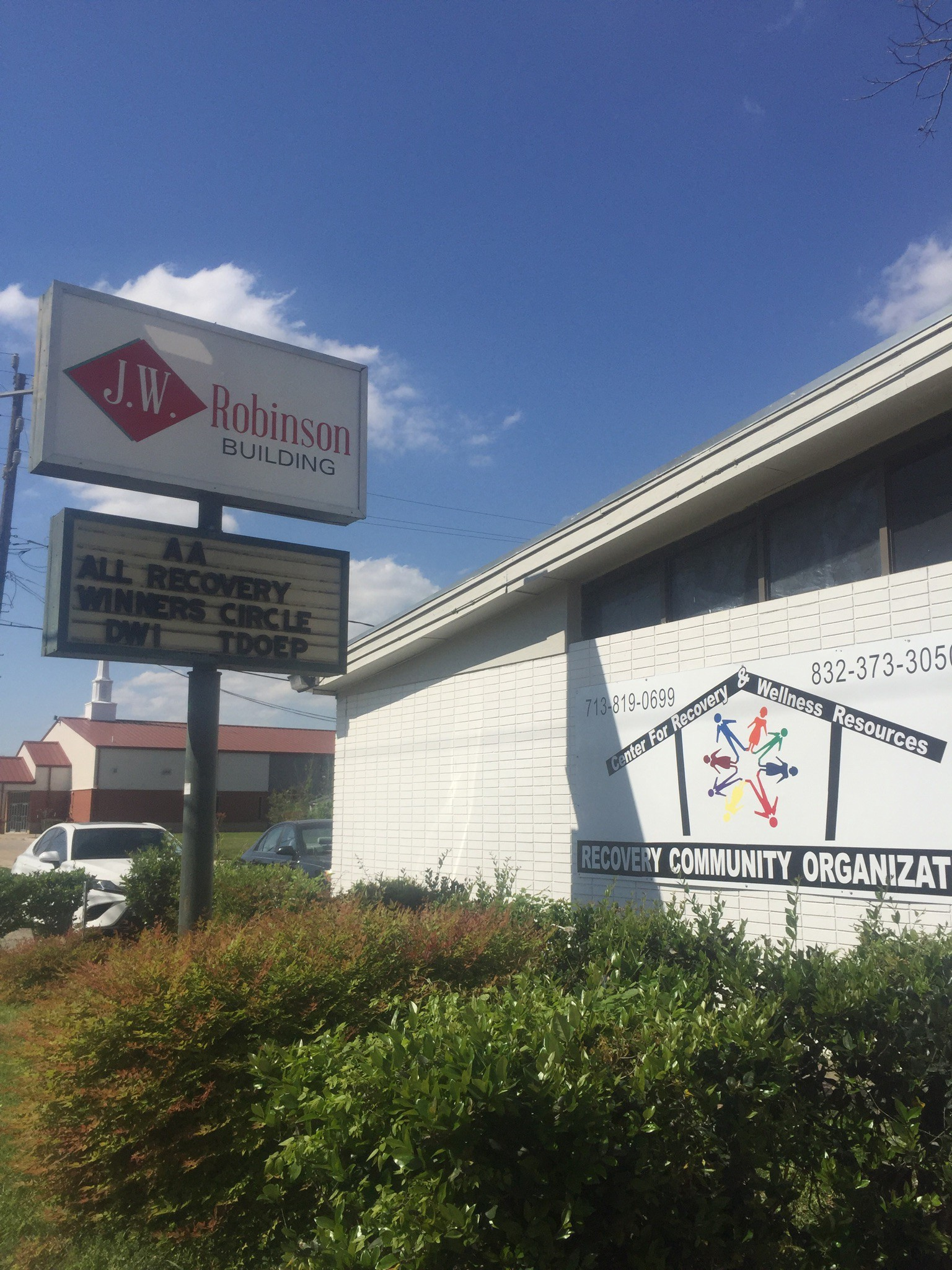 The Center For Recovery And Wellness Resources Is A New Addition To Houston Initiative