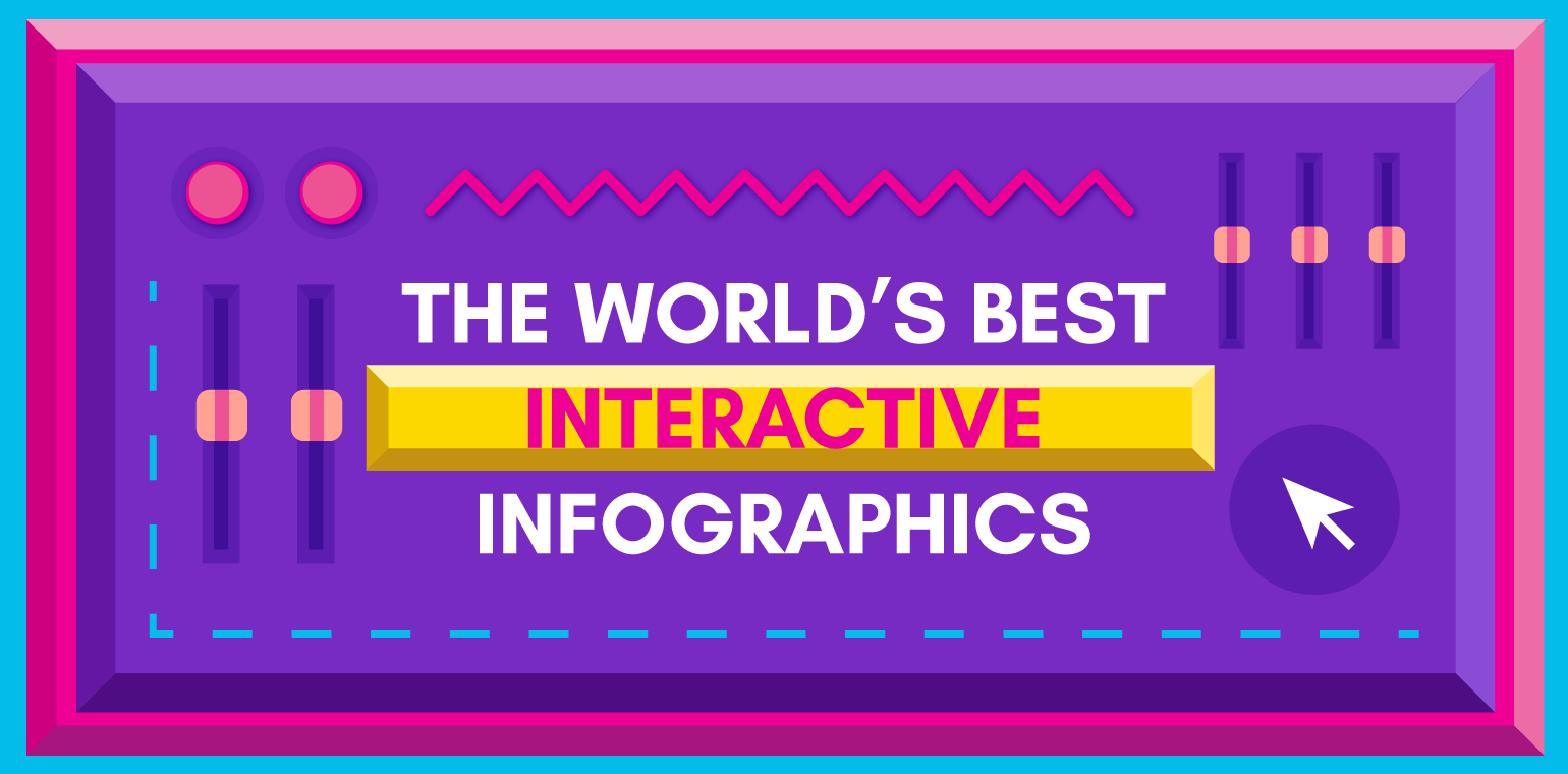 16 Stunning Examples Of Interactive Infographics
