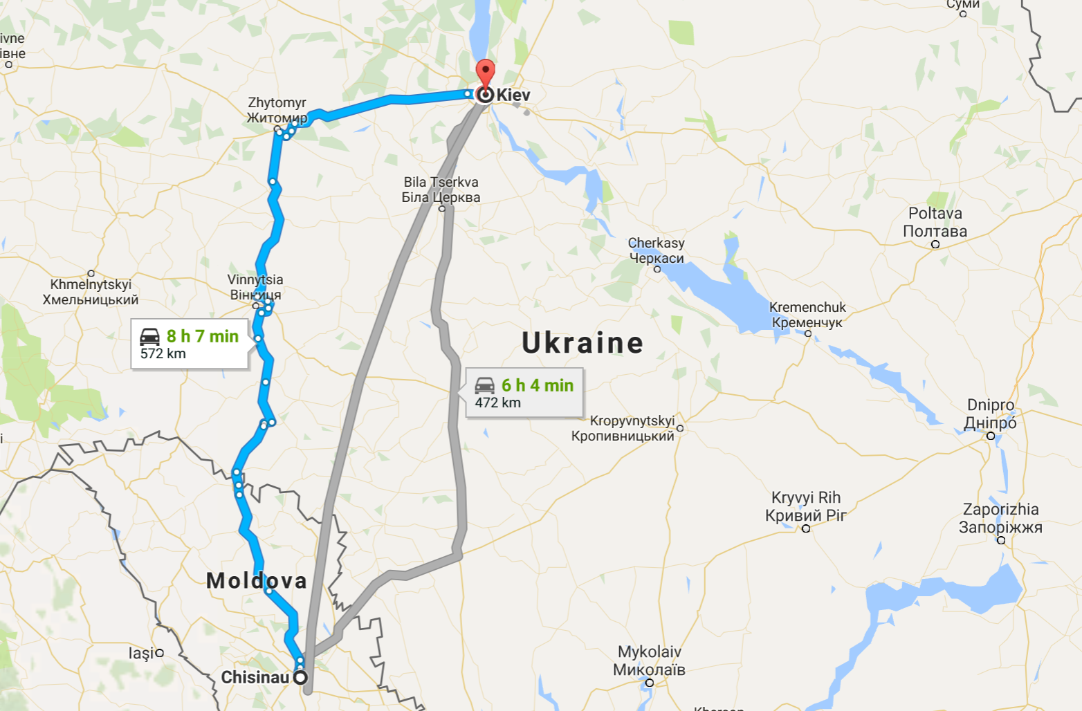 Travel guide taking the bus from Chisinau to Kiev Anthony Kaos Blog