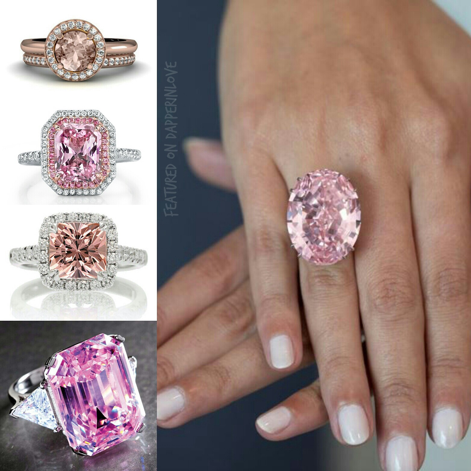 How You Can Own An Engagement Ring Just As Beautiful As This $60 Million  Dollar Rare Pink Diamond!