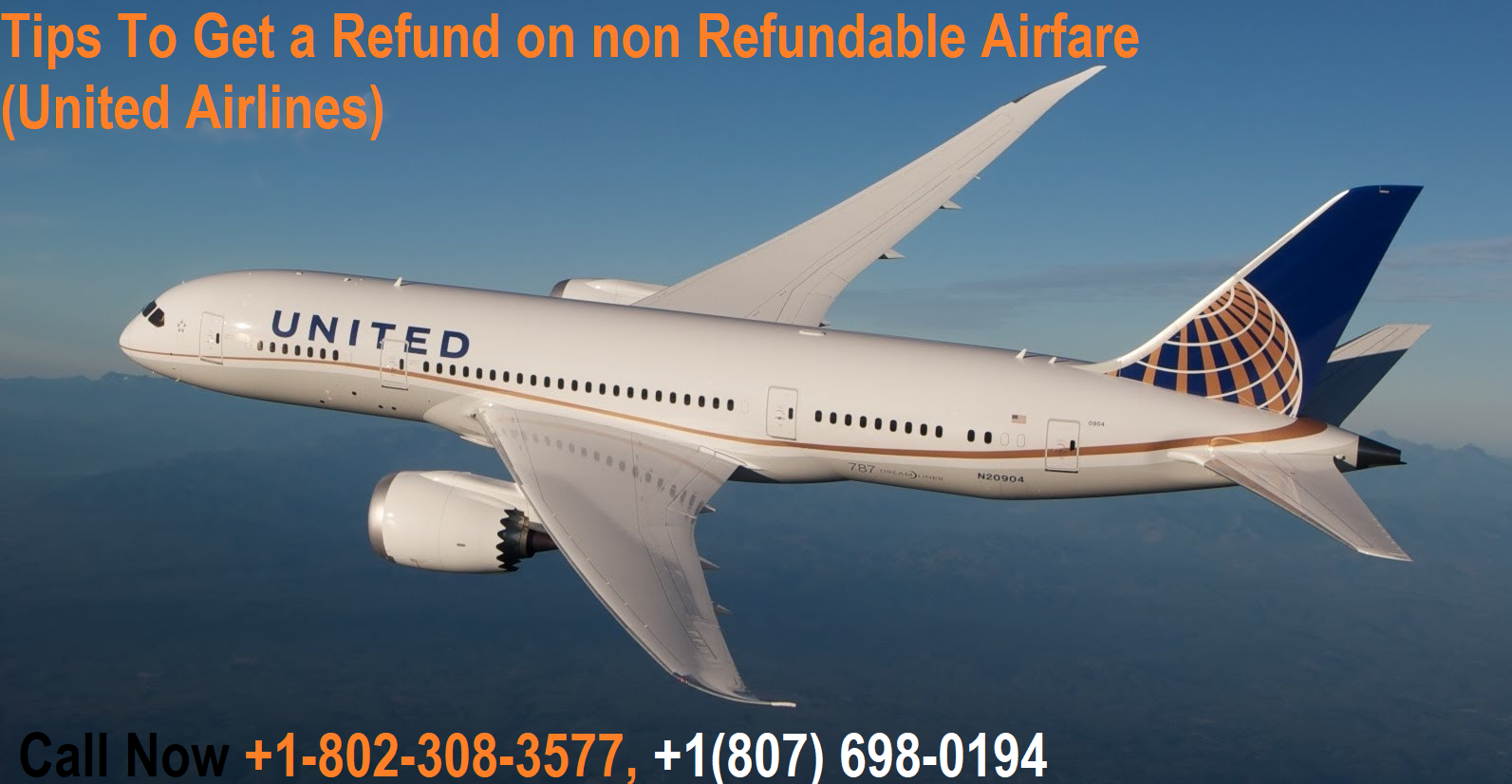 Tips To Get a Refund on non Refundable Airfare (United Airlines)